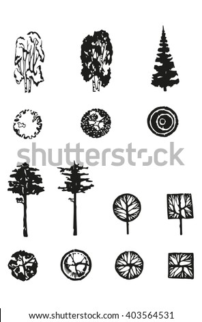 easy to use for architecture drawings - Architecture Drawing Of Trees