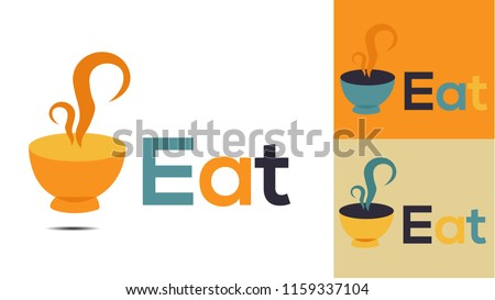 Eat and Food creative logo design 7