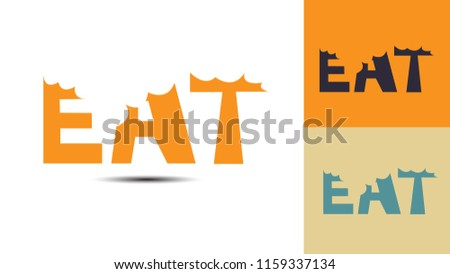 Eat and Food creative logo design 1