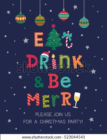 christmas invitation card design