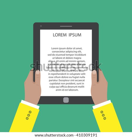 ebook Icon Vector.