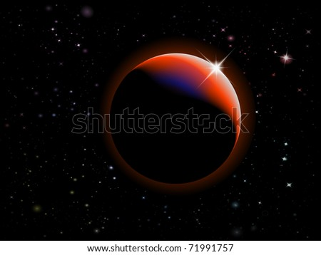 Eclipse - Fantasy Space scene