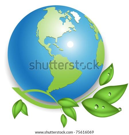 eco - stock vector