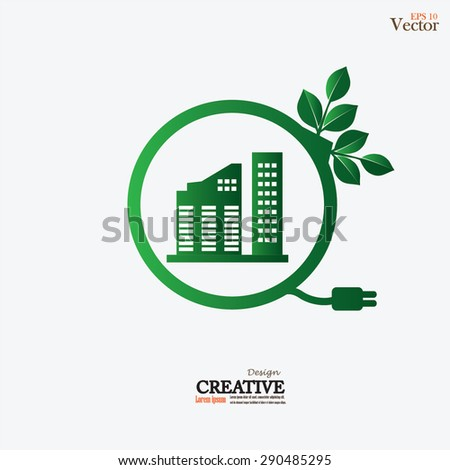 Eco Building Stock Images RoyaltyFree Images Vectors