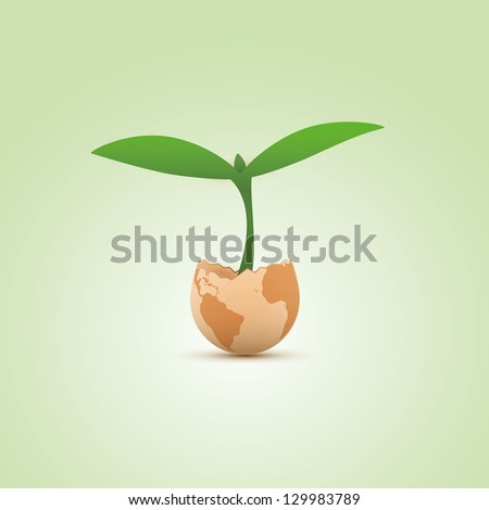 Eco Design - stock vector