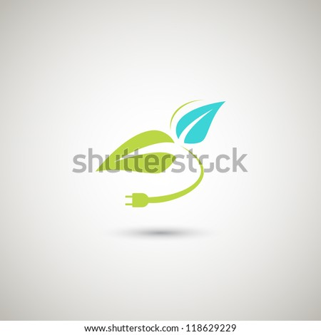 Eco design concept icon. - stock vector