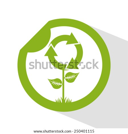 eco friendly  design, vector illustration eps10 graphic