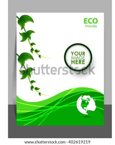 eco friendly flyer
