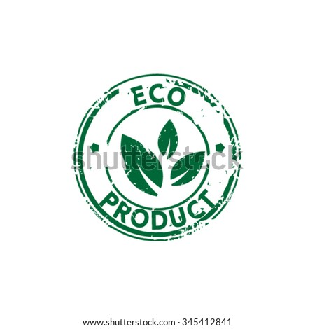 Eco friendly product rubber stamp