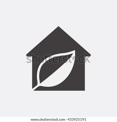Eco house Icon, Eco house Icon Eps10, Eco house Icon Vector, Eco house Icon Eps, Eco house Icon Jpg, Eco house Icon, Eco house Icon Flat, Eco house Icon App, Eco house Icon Web, Eco house Icon Art - stock vector