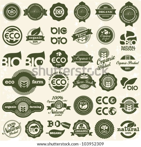Eco icons. Ecology signs set. - stock vector