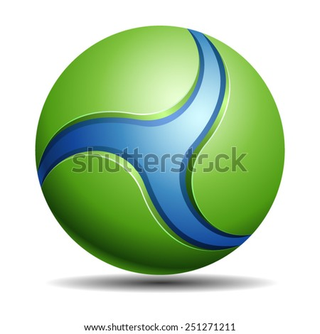 Eco Sphere - stock vector