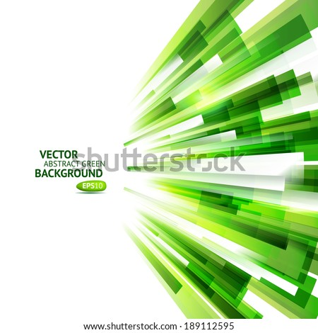 Eco technology background. Vector natural speed. Abstract wind. - stock vector