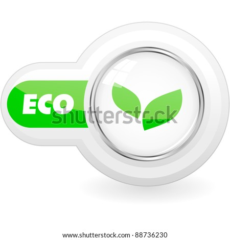 ECO. Vector illustration. - stock vector