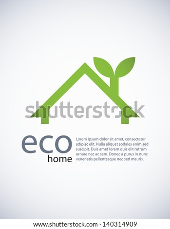 Ecology background, EPS10 vector. - stock vector