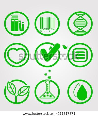 Ecology icon. Vector eps 10 - stock vector