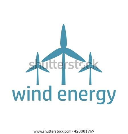 wind energy logo stock images royaltyfree images