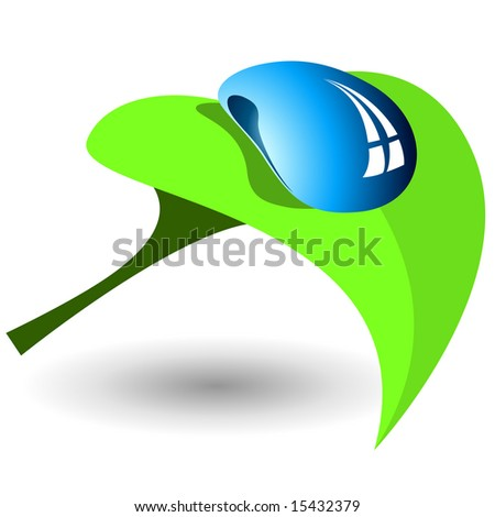 Ecology nature. Logo. Vector illustration - stock vector