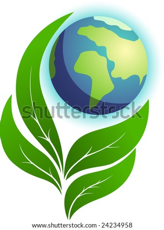 Ecology nature. Vector illustration - stock vector