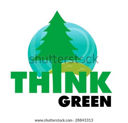 ecology symbol 1 - stock vector