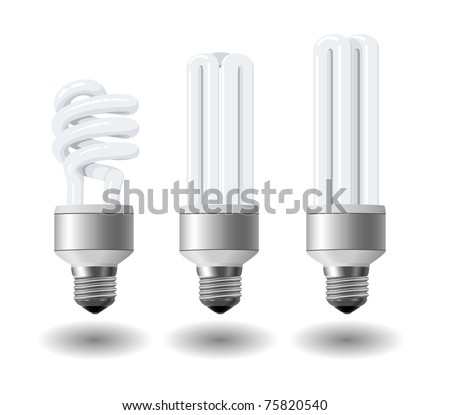 Economic light bulb set eps10