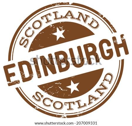 Edinburgh Scotland Stock Vectors Amp Vector Clip Art