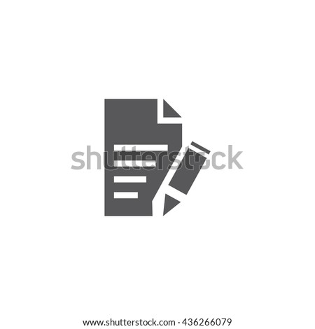 Edit File Icon, Edit File Icon UI, Edit File Icon Vector, Edit File Icon Eps, Edit File Icon Jpg, Edit File Icon Picture, Edit File Icon Flat, Edit File Icon App, Edit File Icon Web - stock vector