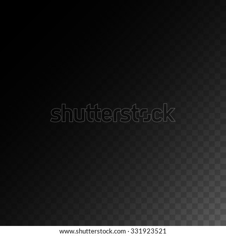 Editable background for transparency image. Vector illustration for modern transparent design. Square seamless pattern in based. White, black and gray colors. Web element. - stock vector