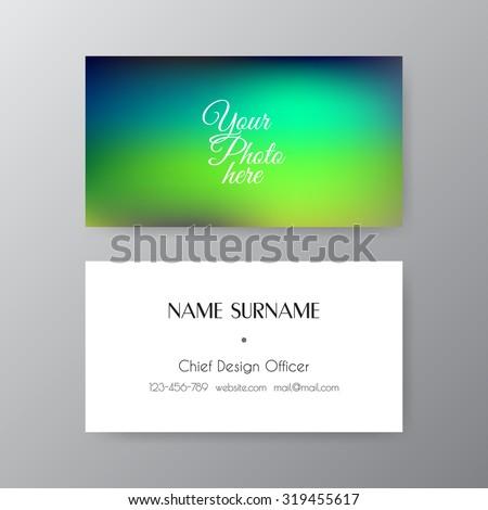 Editable business card set 85 x stock vector 319455617 shutterstock editable business card set 85 x 55 mm stylish professional and designer business card reheart Choice Image