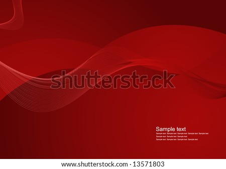 Editable modern abstract vector background with space for your text - stock vector