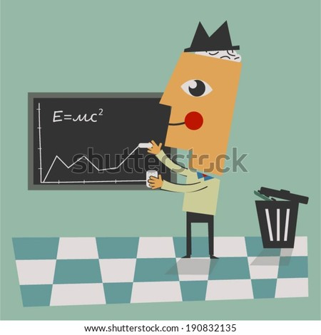 Education excellence - stock vector