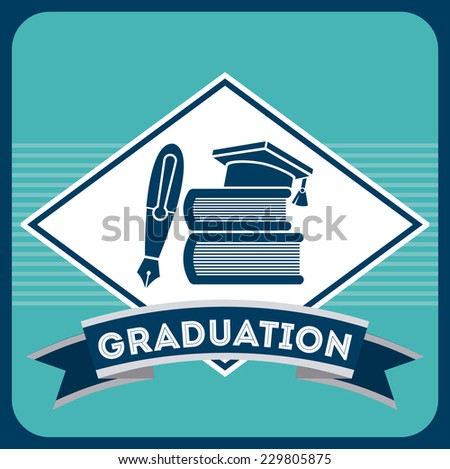 education graphic design , vector illustration - stock vector