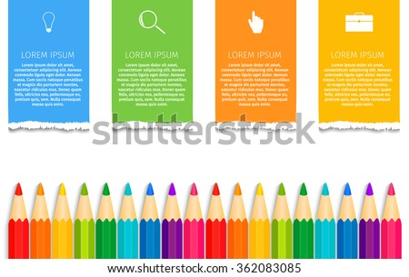 Education infographics. Concept student vector - stock vector