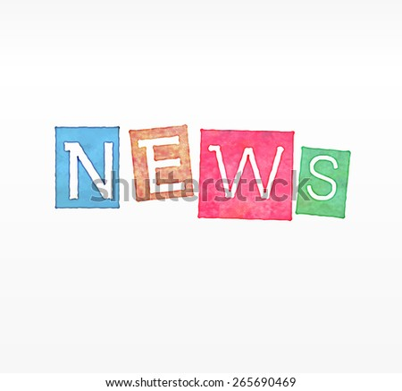 Education News - Newspaper with white background template - stock vector