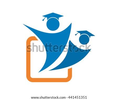 Education scholar figure education scholarship image stock vector education scholar figure education scholarship image vector icon logo symbol stopboris Images
