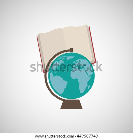 education supplies back to school isolated, vector illustration