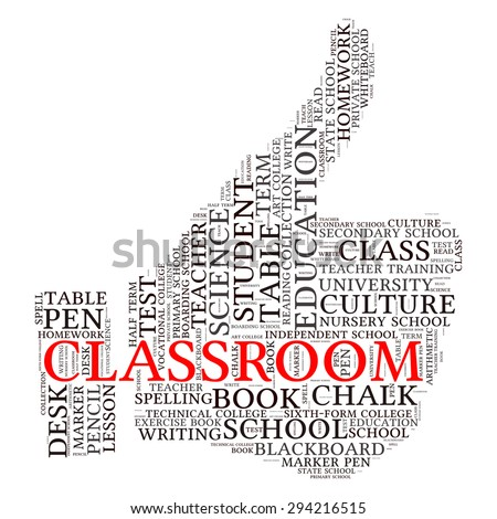 education tag word cloud background
