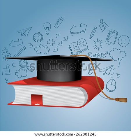 Education vector - stock vector