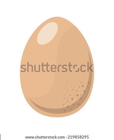 egg graphic design , vector illustration - stock vector