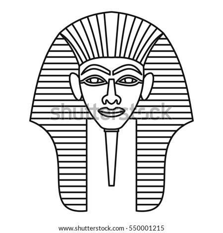 Egyptian Death Mask Template - nornas.info