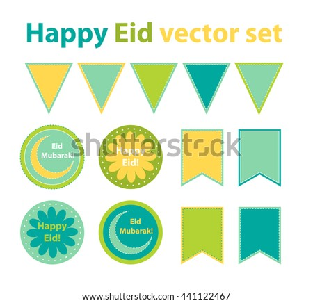 Simple Happy Eid Al-Fitr Decorations - stock-vector-eid-al-fitr-or-eid-al-adha-decoration-cupcake-toppers-stickers-flags-ramadan-design-elements-441122467  HD_731143 .jpg