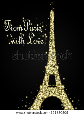 Night In Paris Clip Art Cliparts