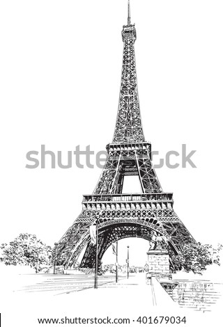 Eiffel tower paris france hand drawing stock vector royalty free eiffel tower paris france hand drawing stock vector royalty free 401679034 shutterstock altavistaventures Choice Image