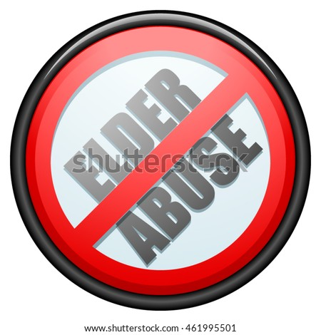 Elder Abuse sign