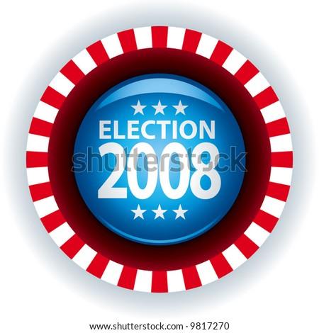 Election 2008 - stock vector