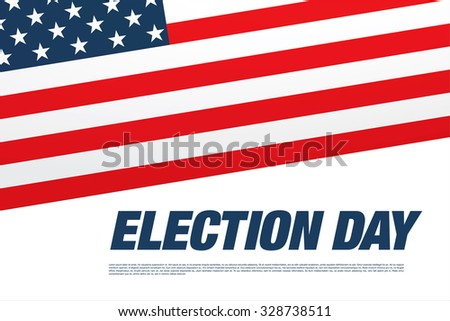 Election day banner