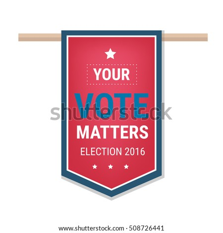 Funny election poster template