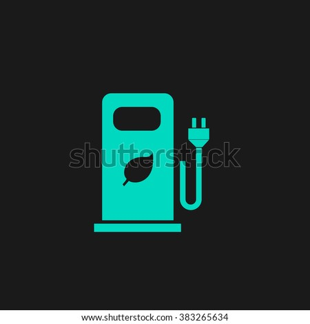 Electric Car Charging Station Bio Fuel Stock Photo (Photo, Vector ...