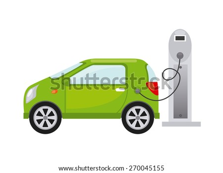 electric car design, vector illustration eps10 graphic