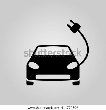 electric car icon, electric car icon vector,electric car , electric car flat icon, electric car icon eps, electric car icon jpg, electric car icon path, electric car icon flat, electric car icon app - stock vector